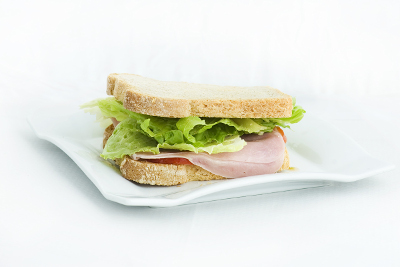 sandwich de pan masa madre